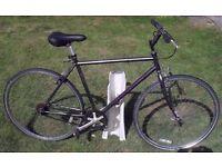 Cheap hybrid project bike - repairs needed