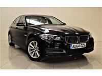 BMW 5 SERIES 2.0 520D SE 4d 188 BHP + 1 OWNER FROM NEW (black) 2014