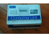 Brand new 10 way, dual RCD, fully populated consumer unit