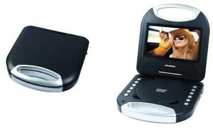"NEW Sylvania SDVD7049-BLACK 7"" Portable DVD Player with Handle, Black"