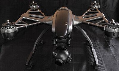 Quadcopter Yuneec Typhoon Q500 4K  Black/Silver Edition - viel Zubehör