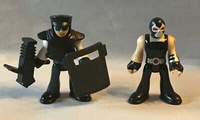 Imaginext DC Super Friends Gotham City SWAT TEAM MEMBER W/ GEAR & BANE