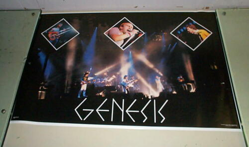 GENESIS Live Vintage 1982 POSTER Only One
