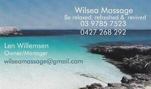 Wilsea Home Massage Seaford Frankston Area Preview