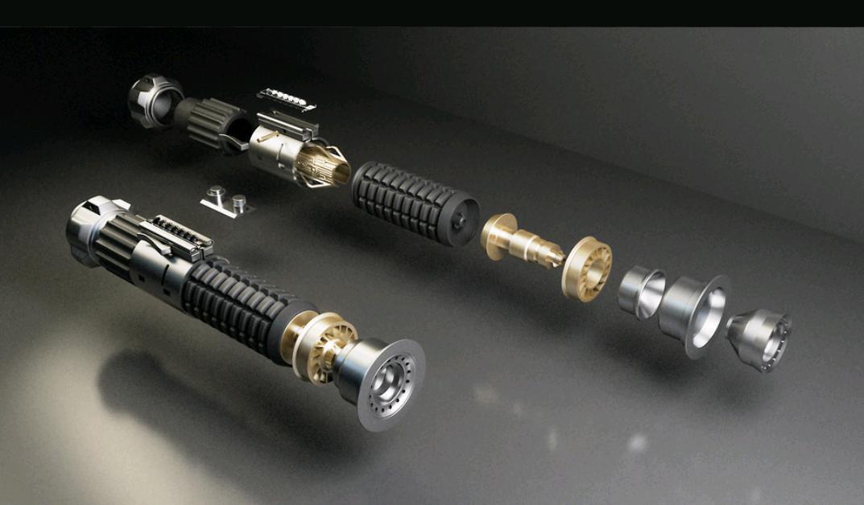 Star Wars Obi-Wan Kenobi Lightsaber - Lichtschwert - Bausatz
