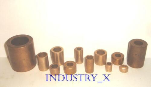 Oilite Bronze Bushing - Pick Your Size & Quantity - Oil Lite Brass