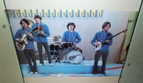 THE MONKEES Stage Vintage 1967 Poster