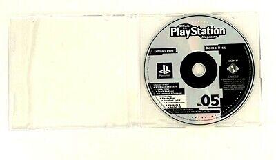 Sony Playstation Magazine No. 05 Demo Disc February 1998 PS1