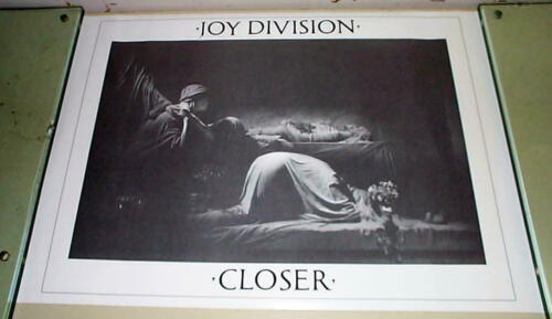 JOY DIVISION Closer Vintage Poster LAST ONE