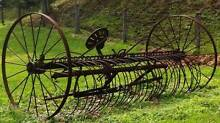 ANTIQUE RAKE/PLOUGH Wights Mountain Brisbane North West Preview