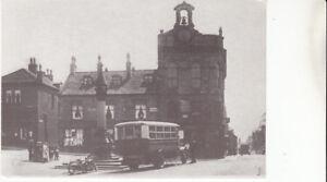 Blyth & Berwick bus in Market Place, (Towngate)  Baildon, Yorkshire