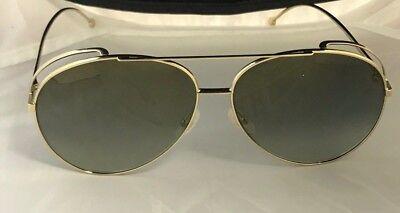 995737434d59 Fendi FF0286 S FF 0286 S 8J5G FQ Gold Fashion Pilot Sunglasses