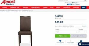 [4pcs] Set of August dining chairs Indooroopilly Brisbane South West Preview