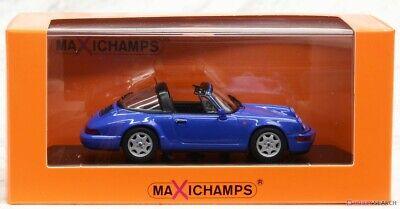 Maxi Champs 1/43 Porsche 911 Targa (964) 1991 Blue