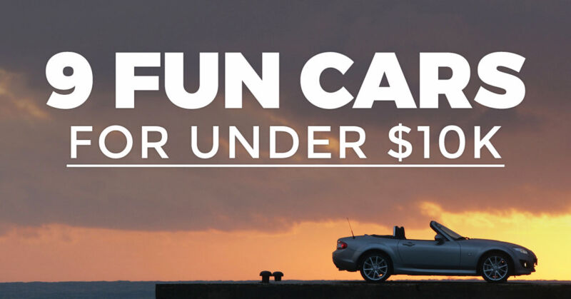9 of the most fun cars to drive for under 10k ebay. Black Bedroom Furniture Sets. Home Design Ideas