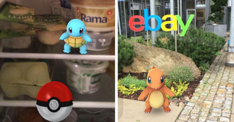 Auch bei eBay arbeiten wir fleißig daran, Pokémon-Meister zu werden.  (© eBay)