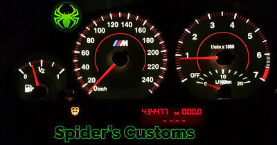 BMW E46 3 Series Speedometer Instrument Cluster Car Gauge Dials Customs