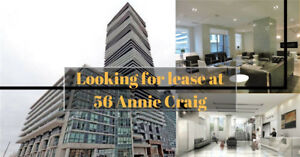 Looking for a lease condo at Parklawn / Lakeshore?