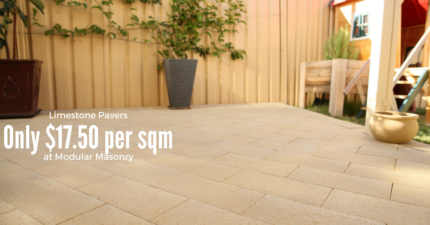 AFFORDABLE LIMESTONE PAVERS
