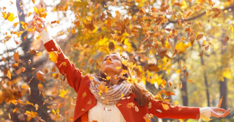 Der Herbst hat eindeutig auch seine schönen - und praktischen - Seiten! (© Thinkstock via The Digitale)