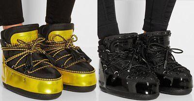 Jimmy Choo Iconic Star Short Moon Snow Ski Boots Eu 37 39 I Love Shoes Wow Omg