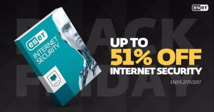 ESET Antivirus Black Friday Sale - Save up to 51% Off