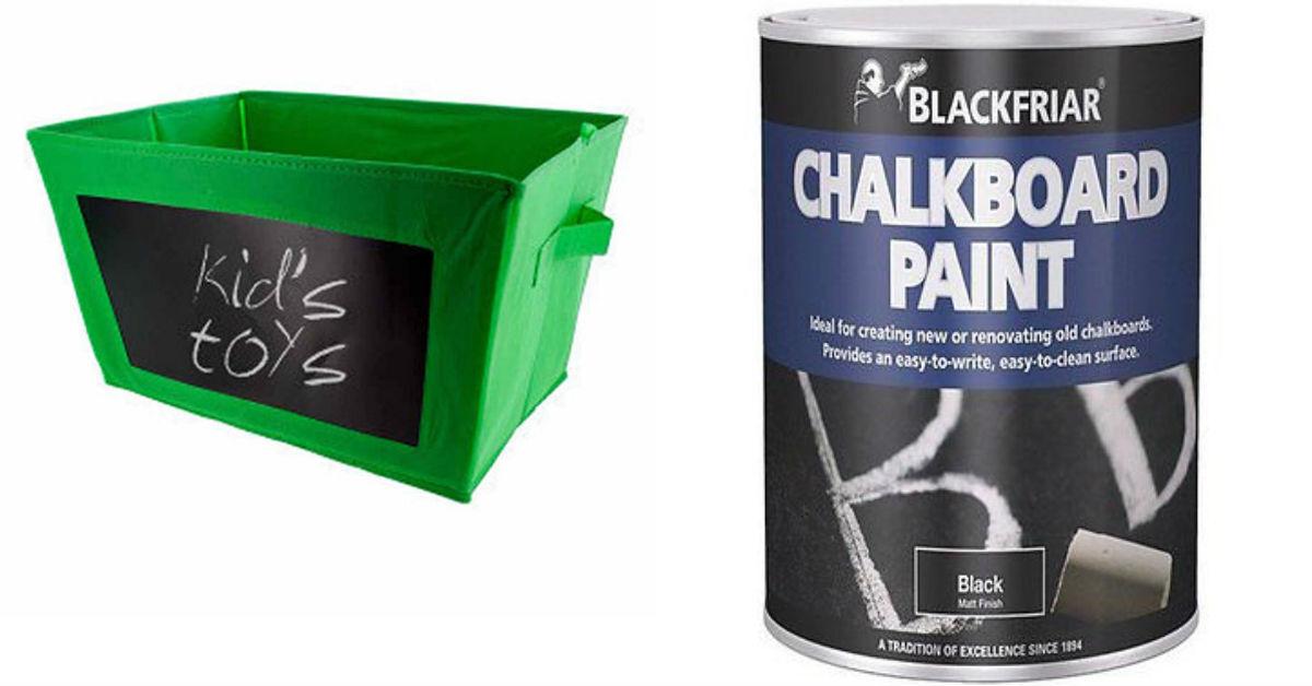 Use Chalkboard Paint