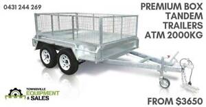 TANDEM AXLE BOX TRAILERS INSTOCK NOW FROM $3650 OR $46PW