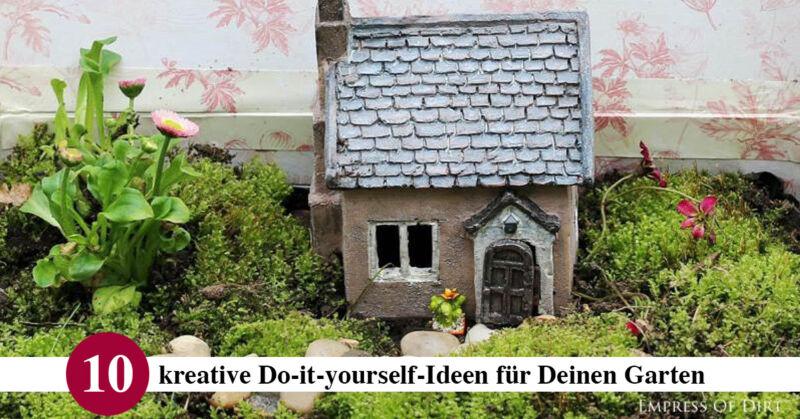 10 kreative do-it-yourself-ideen für deinen garten   ebay - Ideen Fur Den Garten Kreativ