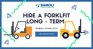 Damoli Forklifts - Get yours now! Laverton North Wyndham Area Preview