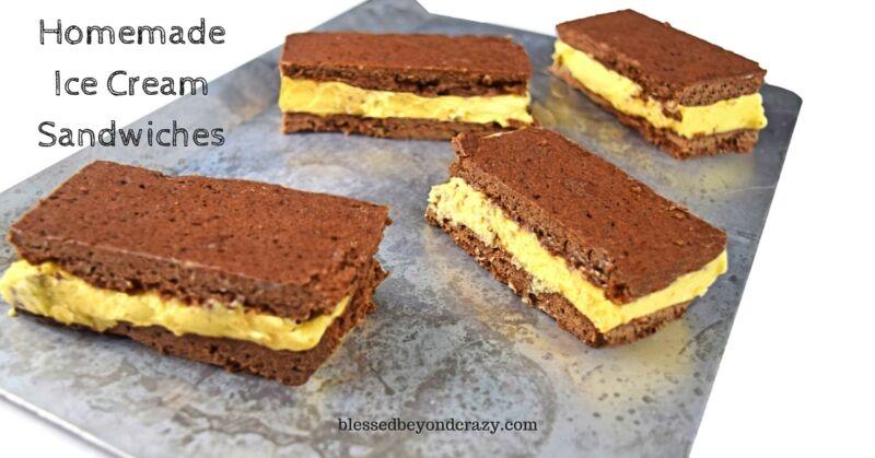 Homemade Ice Cream Sandwiches, a Classic Summer Treat | eBay