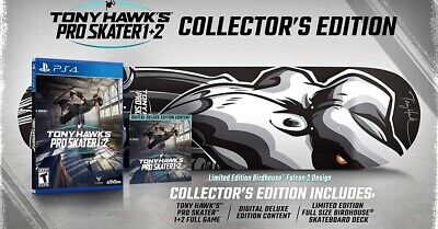 Tony Hawk's Pro Skater 1 and 2 Collector's Edition (PS4) (Pre Order Confirmed)