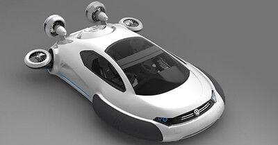 Ein fliegendes Auto hätten wir doch alle gerne, oder?