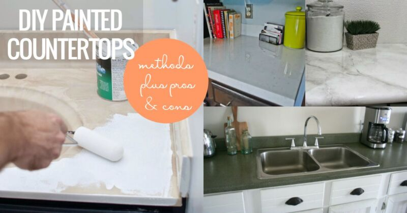 Why And How To Paint Your Countertops