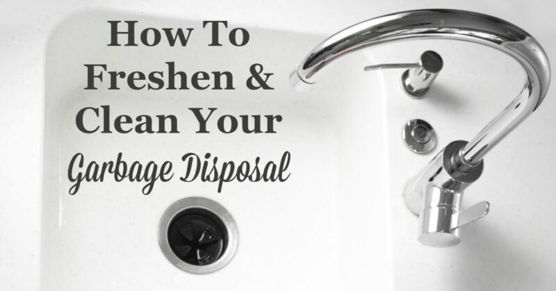how to freshen clean your garbage disposal ebay. Black Bedroom Furniture Sets. Home Design Ideas