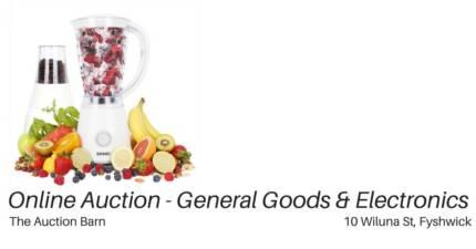 HOME & ELECTRONICS AUCTION