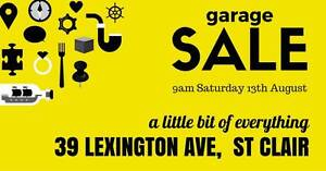 Garage Sale / Moving Sale Erskine Park Penrith Area Preview
