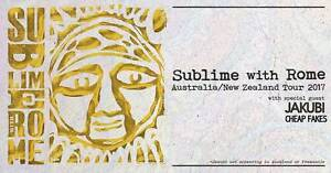 Wanted one sublime ticket for Miami Gold Coast Mermaid Waters Gold Coast City Preview