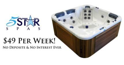 Outdoor Spas and Swim Spas Start @ $49 a Week!