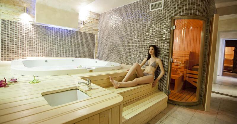 So kann ein modernes Badezimmer aussehen, vorausgesetzt du hast ausreichend Platz.