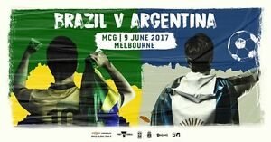 Brazil v Argentina - 5x Gold Tickets Elsternwick Glen Eira Area Preview