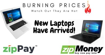 Laptops On zipPay & zipMoney   Burning Prices