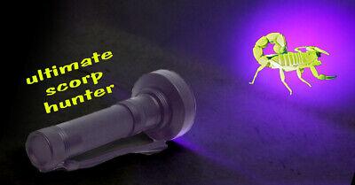UV Flashlight 100 LED Ultraviolet Handheld Inspection Blacklight Scorpion Finder