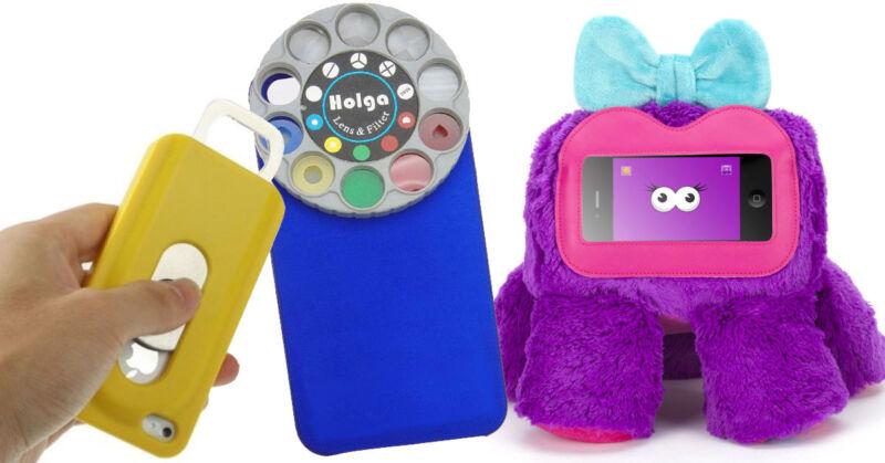 Diese Smartphone-Cases sind jetzt schon Kult. (©  koenig-shopping_de / Holga / Griffin Technology)
