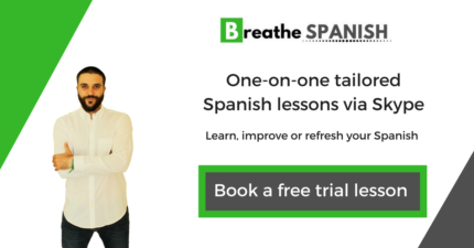 Spanish Private Lessons with a qualified native teacher.