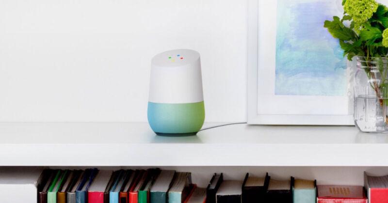 Mit Google Home steuern Sie Ihr Haus per Zuruf. (© Google)