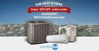 ❄️ YORK Central Air Conditioner Installation PROMO! ❄️