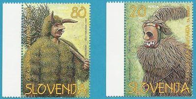 Slowenien aus 1997 ** postfrisch MiNr.173-174 - - Frische Kostüm