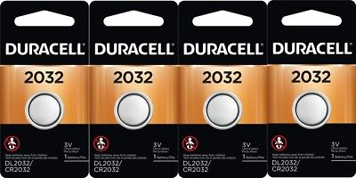 Duracell CR 2032 ECR2032 CR2032 DL 2032 3V Lithium Battery x 4 comprar usado  Enviando para Brazil