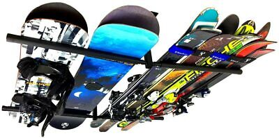 StoreYourBoard Ski and Snowboard Ceiling Storage Rack, Hi Port 2 Overhead Hanger